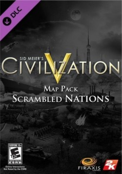 Civilization V : Scrambled Nations DLC (Steam) Global CD KEY