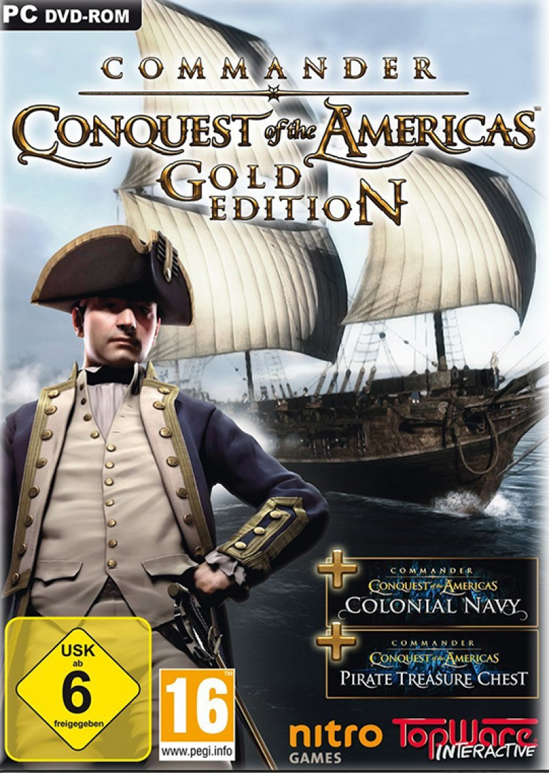 Commander: Conquest of the Americas Gold (Steam) Global CD Key