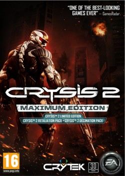 Crysis 2 Maximum Edition (Steam) Global CD KEY