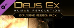 Deus Ex: Human Revolution Explosive Pack DLC (Steam) Global CD KEY