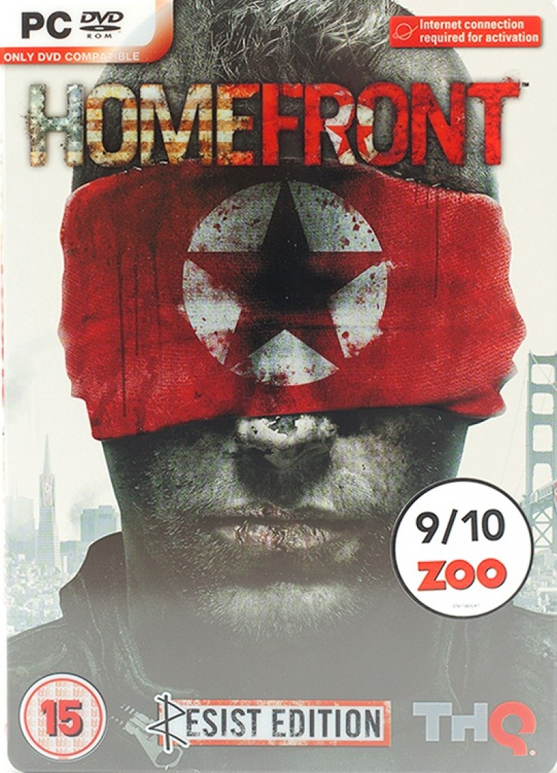 Homefront Resist Edition (Steam) Global CD KEY (3 codes)