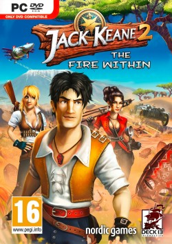 Jack Keane 2 - The Fire Within (Steam) Global CD KEY