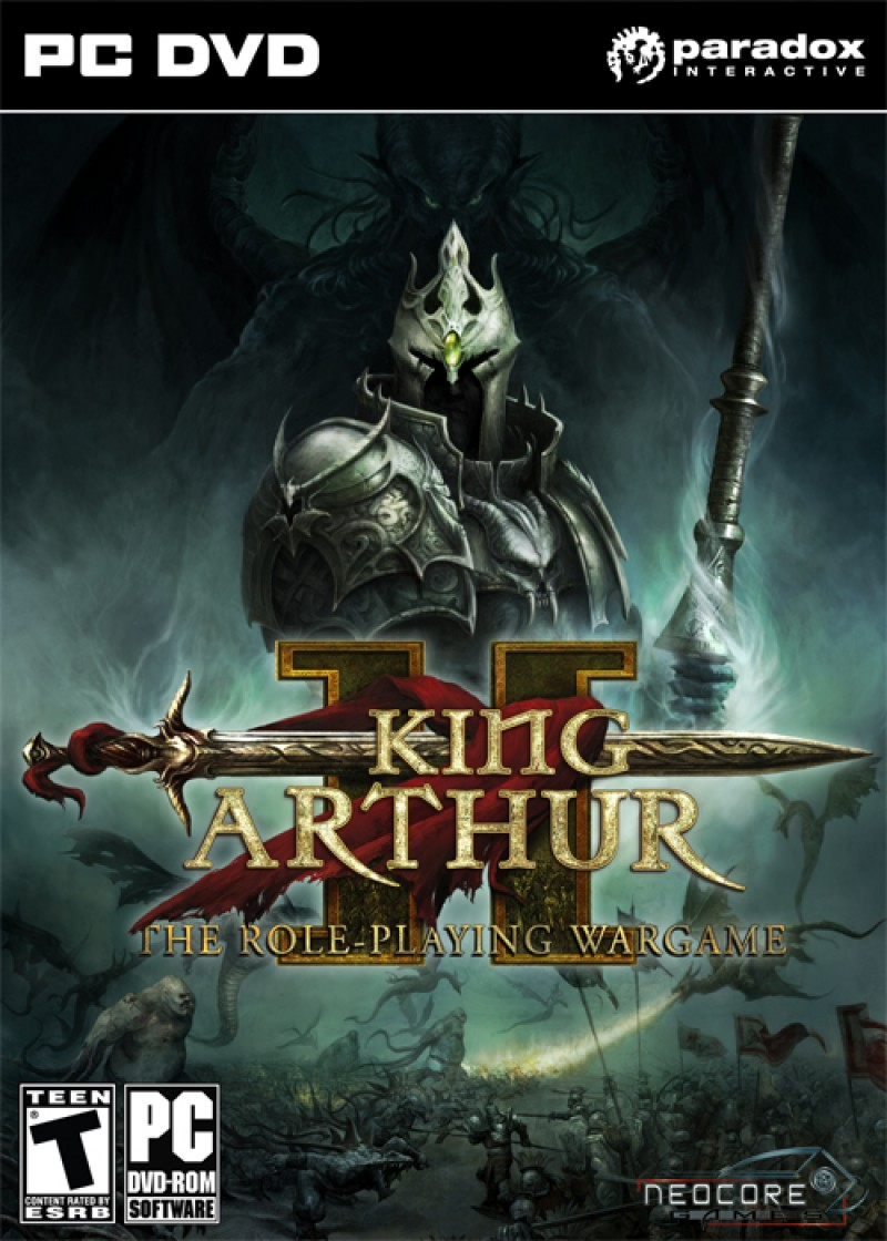 King Arthur II English/French only , regfree STEAM ( incl Dead Legions )