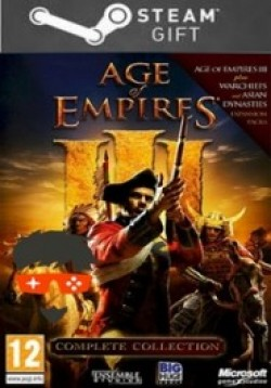 STEAM GIFT :  Age of Empires® III: Complete Collection
