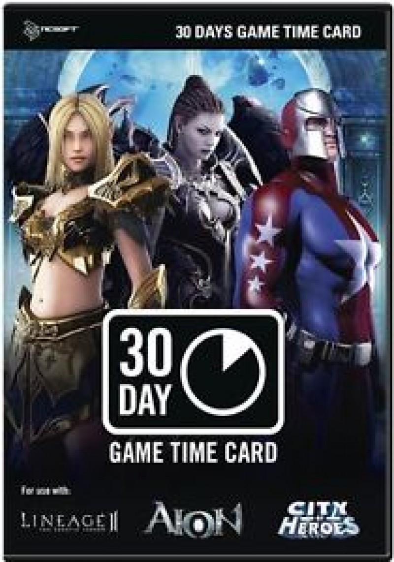NC 30 Days Gamecard US