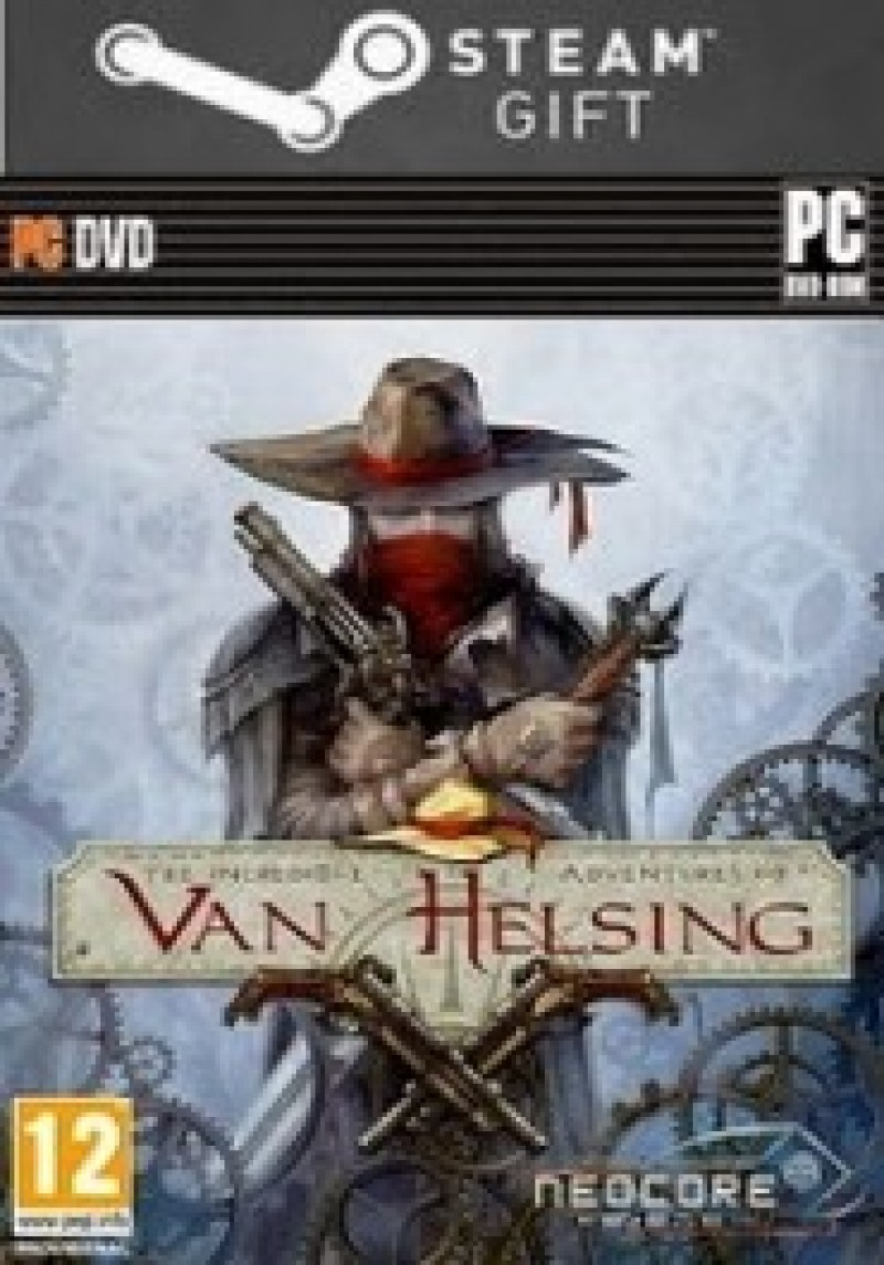 STEAM GIFT : The Incredible Adventures of Van Helsing Steam