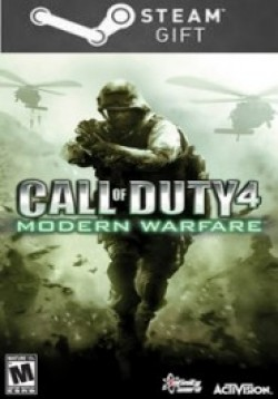 STEAM GIFT : Call of Duty 4: Modern Warfare (global/multi)