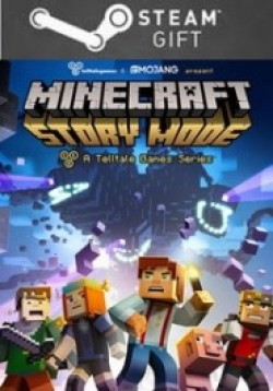 STEAM GIFT : Minecraft: Story Mode - A Telltale Games Series