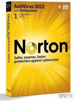 Norton Antivirus 2012 / 1PC 2 years