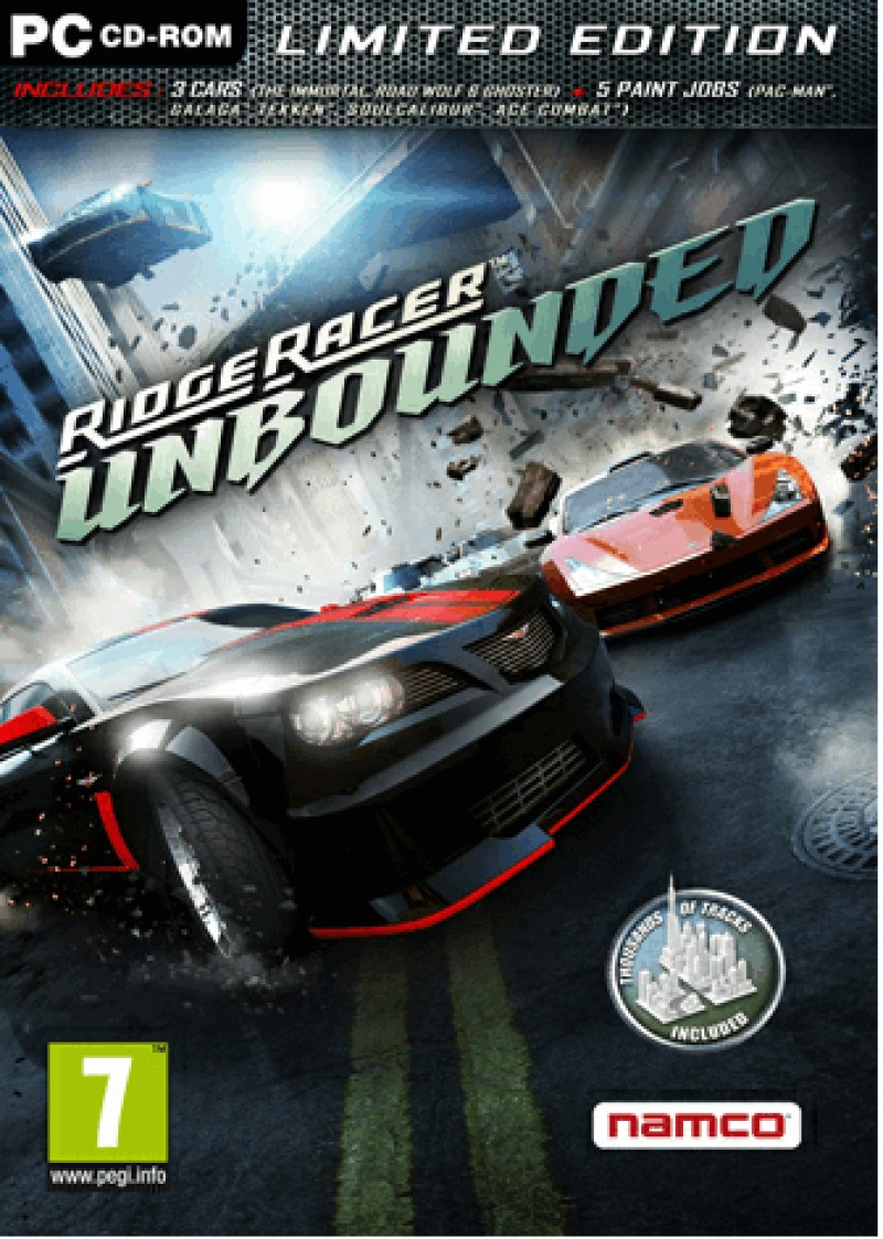 Ridge Racer Unbounded Limited Edition EU ( 2 codes ) (Steam) Global CD KEY