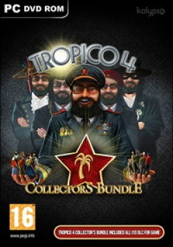 Tropico 4 Collector's Bundle (Steam) Global CD KEY