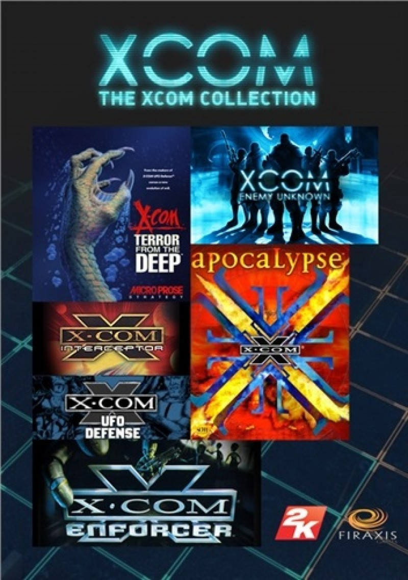 XCOM Collection (Steam) Global CD KEY (Enemy Unknown + Slingshot pack + Elite Soldier pack, Xcom: Apocalypse, Interceptor,Enforcer,Terror fromt he Deep,UFO defence)
