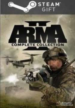 STEAM GIFT : Arma 2 Complete Collection