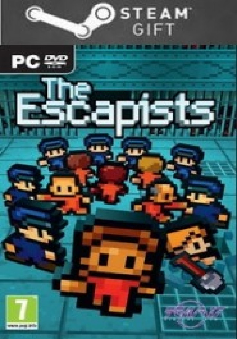 STEAM GIFT :  The Escapists