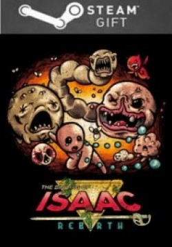 STEAM GIFT : The Binding of Isaac: Rebirth
