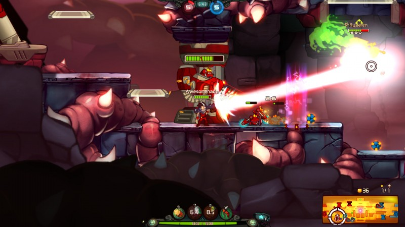 Awesomenauts (Steam) Global CD KEY: 6