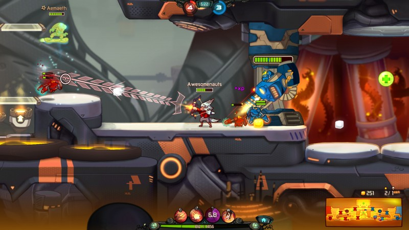 Awesomenauts (Steam) Global CD KEY: 9