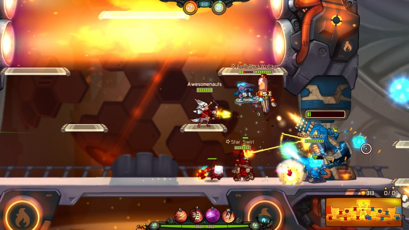 Awesomenauts (Steam) Global CD KEY: 14