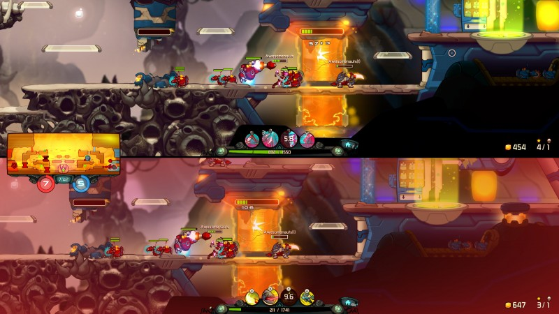 Awesomenauts (Steam) Global CD KEY: 19