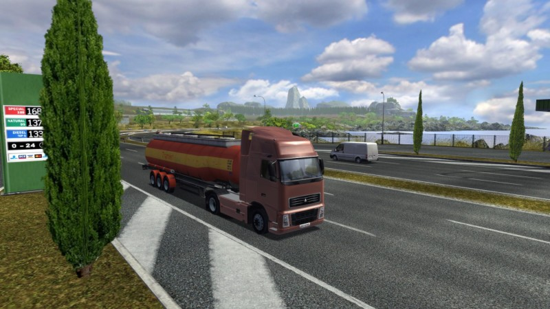 Euro Truck Simulator (Steam) Global CD KEY: 10