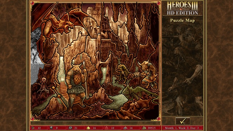 Heroes of Might & Magic III HD Edition (Steam) Global CD KEY: 6