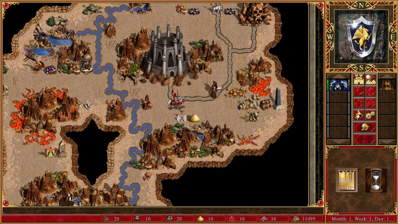 Heroes of Might & Magic III HD Edition (Steam) Global CD KEY: 11