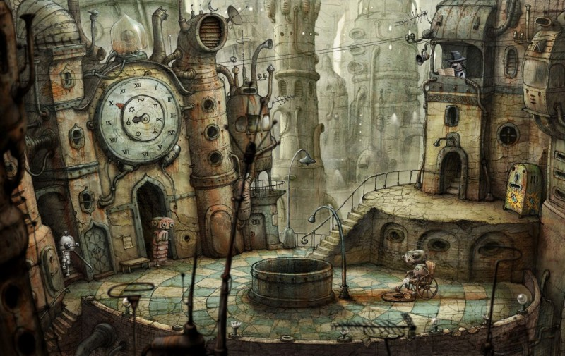 Machinarium (Steam) Global CD KEY: 6