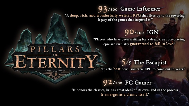 Pillars of Eternity Champion Edition (Steam) Global CD KEY: 1