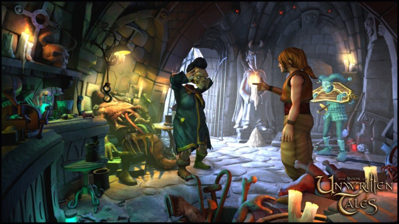 The Book of Unwritten Tales Digital Deluxe Edition (Steam) Global CD KEY: 5