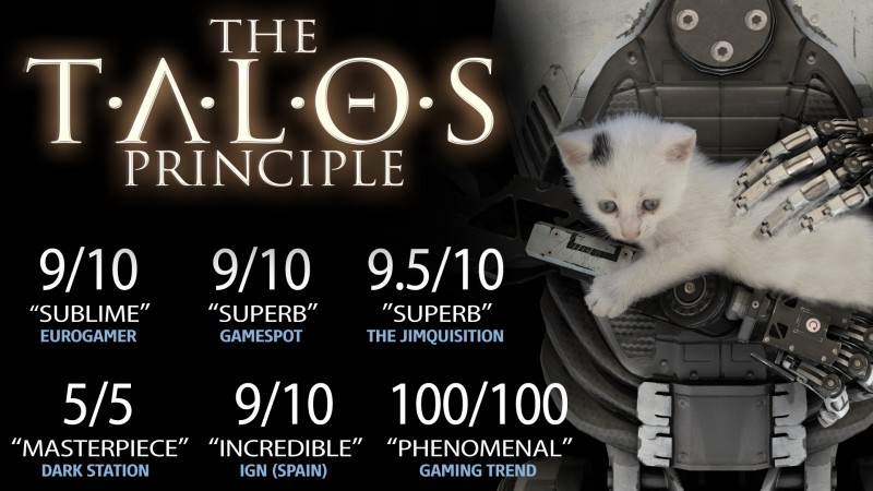 The Talos Principle (Steam) Global CD KEY: 1