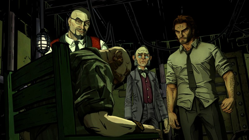 The Wolf Among Us Telltale DRM: 5